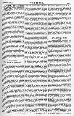 The Index – 16 July 1863